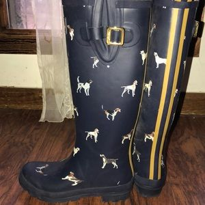 Joules wellies!